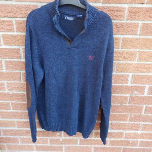 Chaps Ralph Lauren Sweater with elbow patches